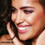 مدل آرایش صورت ایرینا شایک نامزد رونالدو