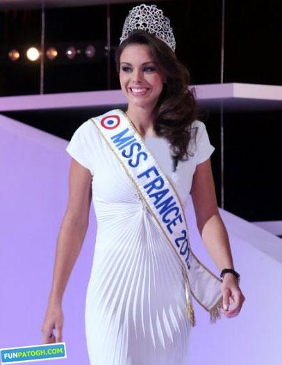 آلن دلون در مراسم انتخاب ملکه زیبایی ۲۰۱۲ فرانسوی+ عکس