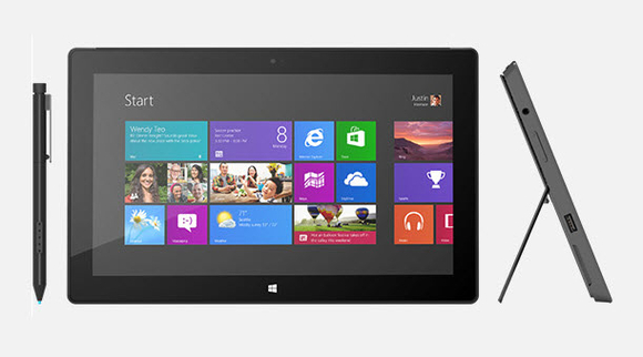 Microsoft Surface with Windows 8 Pro-580-100