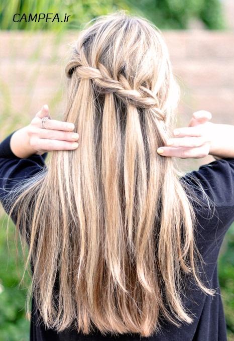 مدل مو آبشاری