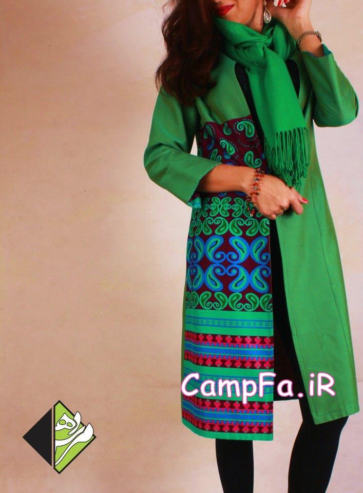 طرح های مانتو سنتی ایرانی 92