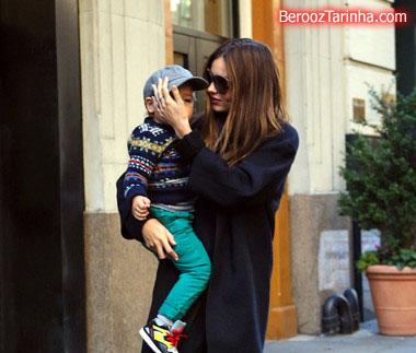 Miranda+Kerr makes 5 عکس های مدل مشهور جهان با پسرش