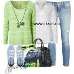 ست لباس جین زنانه 2013 (2)