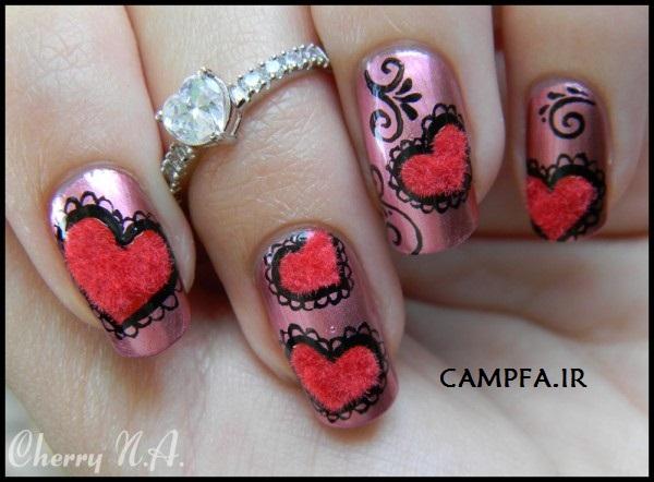 www.campfa.ir مدل فرنچ ناخن جدید و بسیار زیبا 2013
