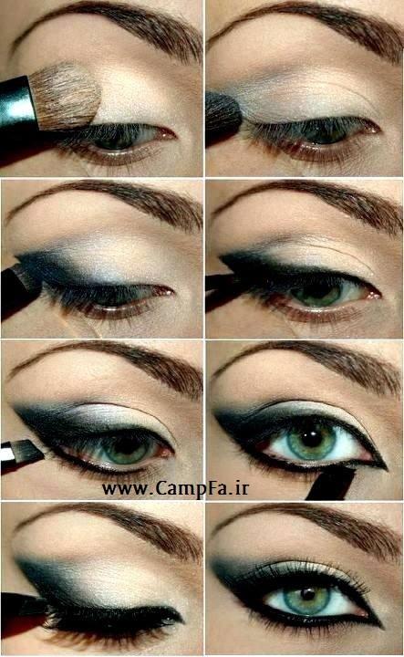 آرایش چشم تصویری