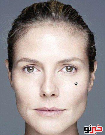 زیباترین زن آلمان بدون آرایش|www.campfa.ir