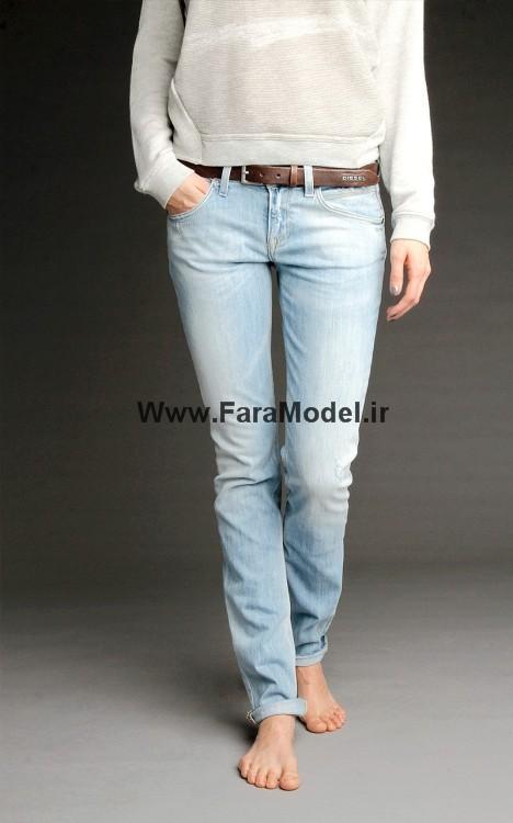 مدل شلوار لی زنانه شیک و جدید زمستان 91| wWw.CampFa.ir