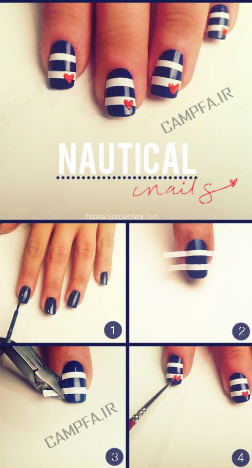 آموزش طراحی روی ناخن - www.campfa.ir