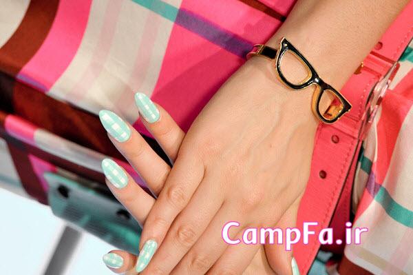 آموزش تصویری لاک ناخن و دیزاین ناخن 2013 www.CampFa.ir