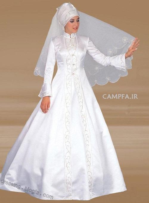CAMPFA.IR مدل لباس عروس پوشیده و باحجاب سال 2013