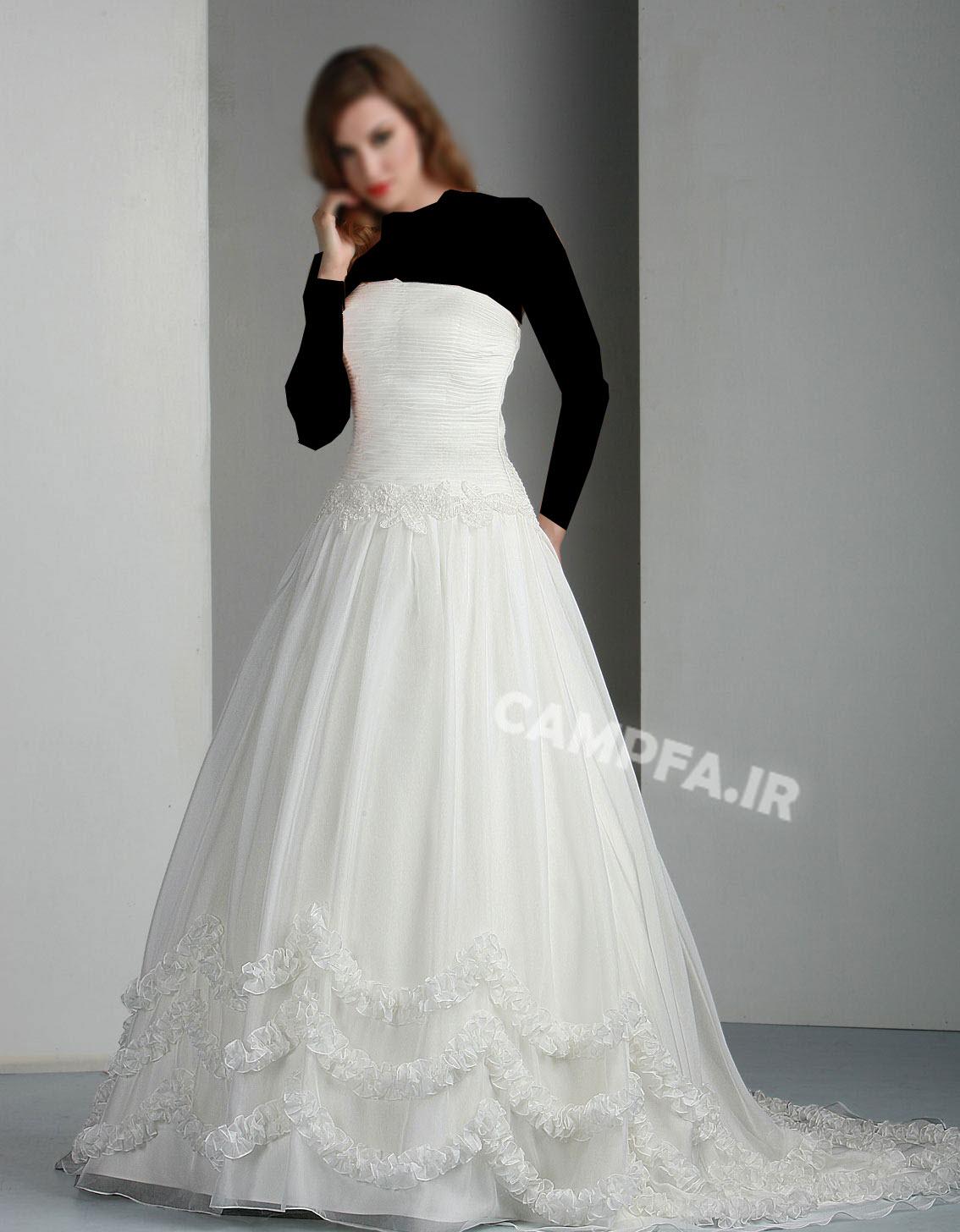 ژورنال لباس عروس اروپایی 2013 - www.campfa.ir