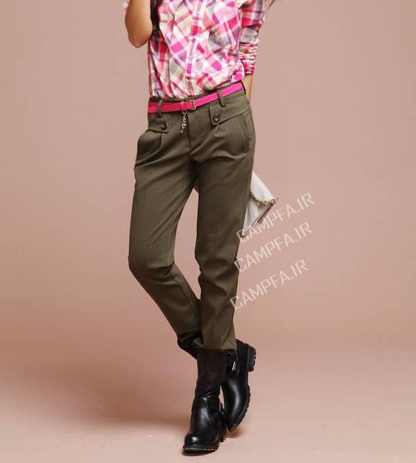 مدل های شیک شلوار کره ایی دخترانه - www.campfa.ir