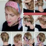 آموزش تصویری آرایش مو 2013