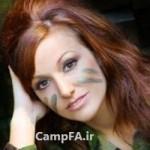 جذاب ترین سرباز زن در سال 2012! + عکس