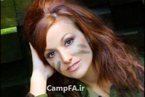 جذاب ترین سرباز زن در سال 2012! + عکس | WWW.CAMPFA.IR