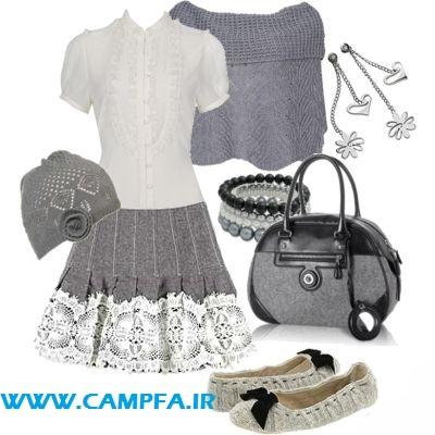 مدل ست لباس دخترانه و زنانه 2013 | www.campfa.ir