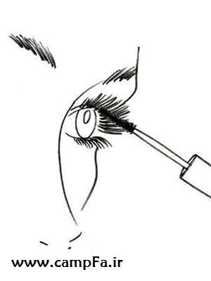 آرایش چشم ـ www.campfa.ir