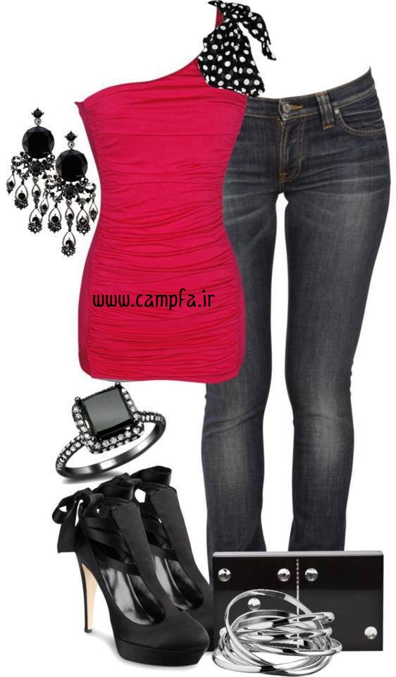 مدل ست لباس مجلسی جدید 2013 www.campfa.ir