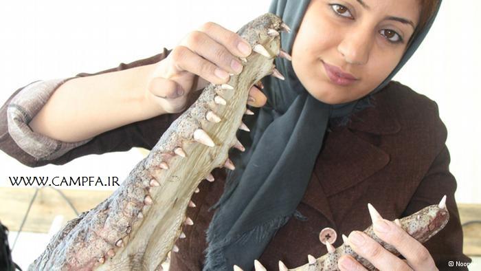 یک دختر جوان و شجاع ایرانی + تصاویر - www.campfa.ir