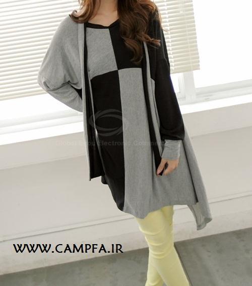 مدل جدید تونیک دخترانه کره ایی 2013 - www.campfa.ir