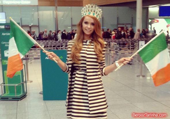 عکس های زیبا ترین دختر ایرلند در سال 2013 www.campfa.ir