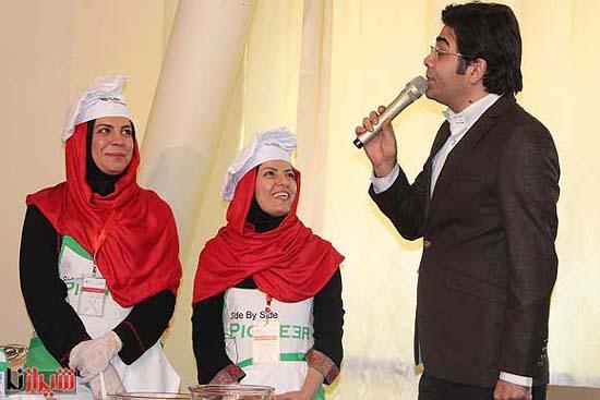 اولین برنامه مشترک فرزاد حسنی و آزاده نامداری بعد از ازدواج + تصاویر