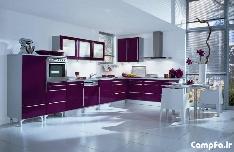 مدل های جدید کابینت و دکوراسیون آشپزخانه 2013