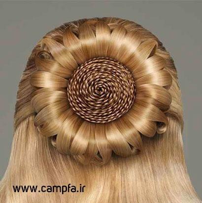 مدل های جدید شینیون سال 92 www.campfa.ir