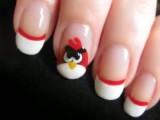کلیپ تصویری آموزش طراحی ناخن www.campfa.ir angry bird