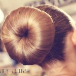 آموزش مدل شینیون مو به شکل دونات