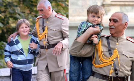 مجری مشهور سیما و همسر روس او +تصاویر