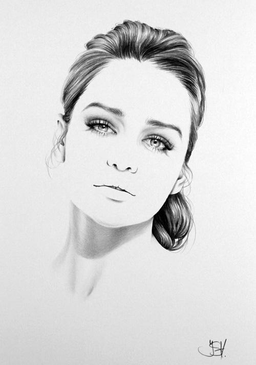 نقاشی چهره شخصیت های مشهور با مداد| wWw.CampFa.ir