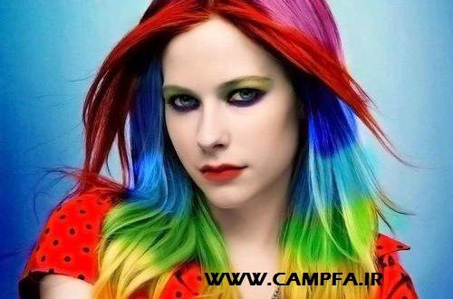 بهترین رنگ موی جهان در خانه شماست !! www.campfa.ir