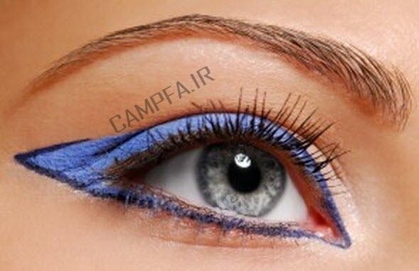 آرایش مناسب برای انواع چشم ها - www.campfa.ir