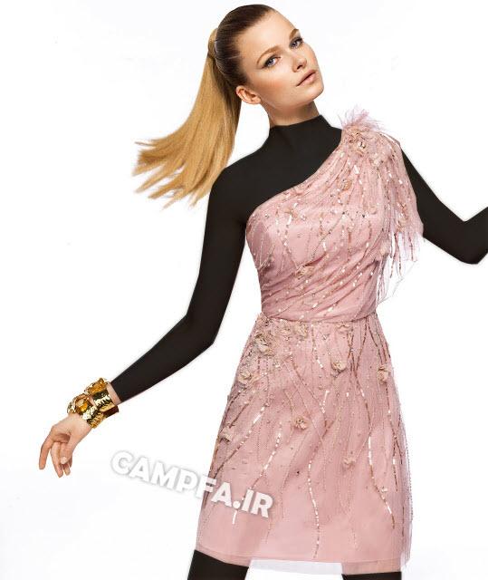 مدل لباس مجلسی کوتاه اسپانیایی 2013 ww.campfa.ir