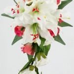 مدل جدید دسته گل آبشاری عروس