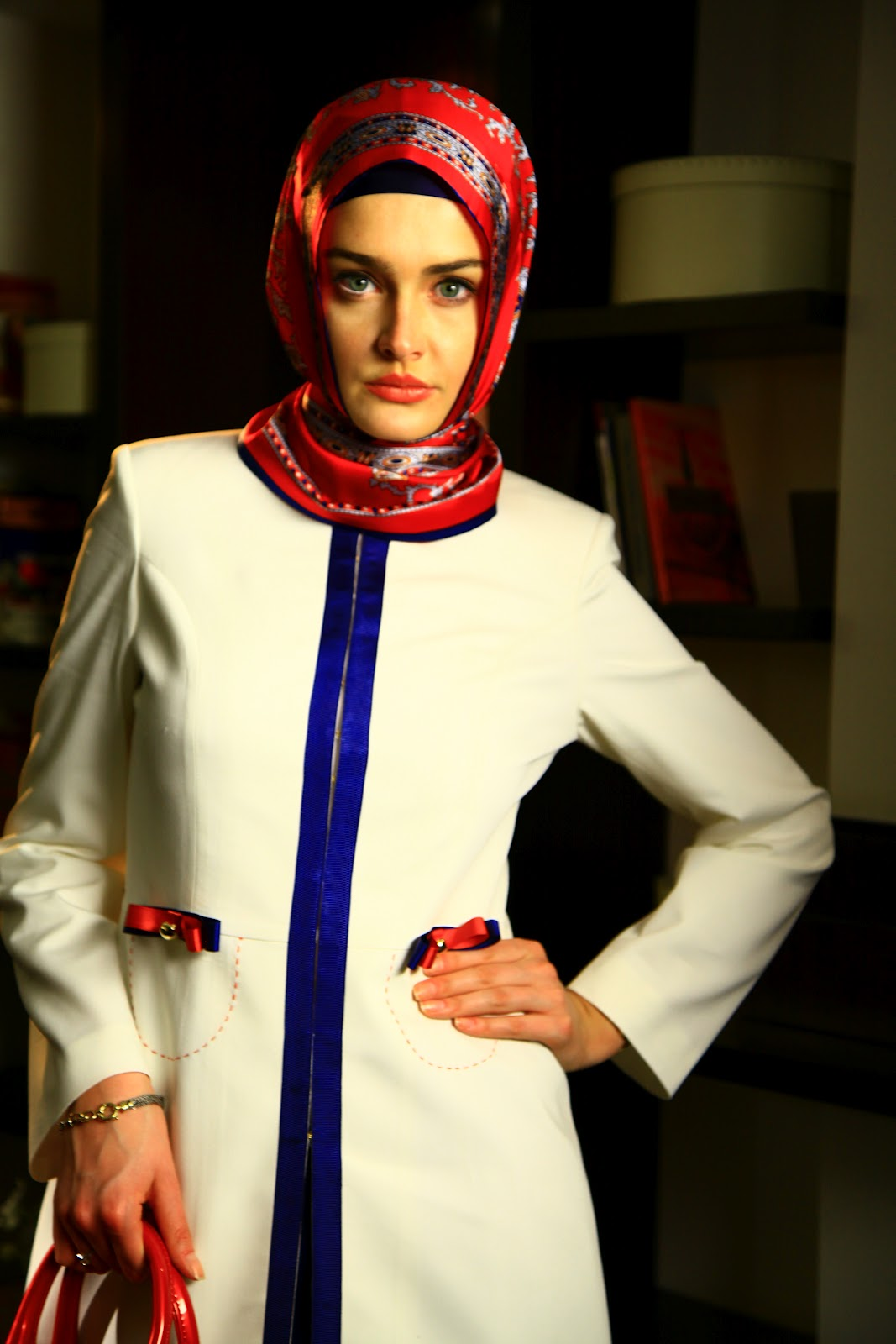 مدلهای جدید مانتو و روسری 2013| wWw.CampFa.ir