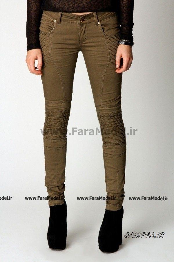 مدل جدید شلوار جین دخترانه 1392 www.campfa.ir