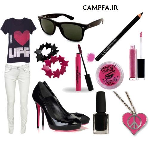 ست لباس دخترونه 2013 www.campfa.ir