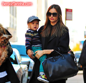 Miranda+Kerr makes 4 عکس های مدل مشهور جهان با پسرش