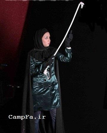 دختر ایرانی که رقیب کریس آنجل است | www.campfa.ir