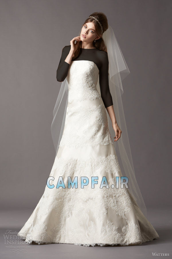 ژورنال لباس عروس اروپایی 92 www.campfa.ir