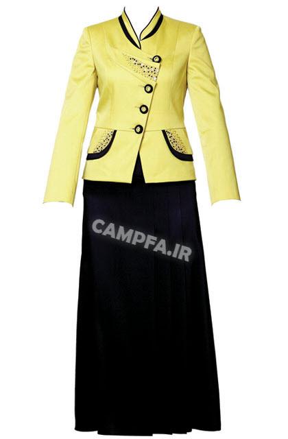 مدل کت و دامن شیک زنانه 92 CampFa.ir