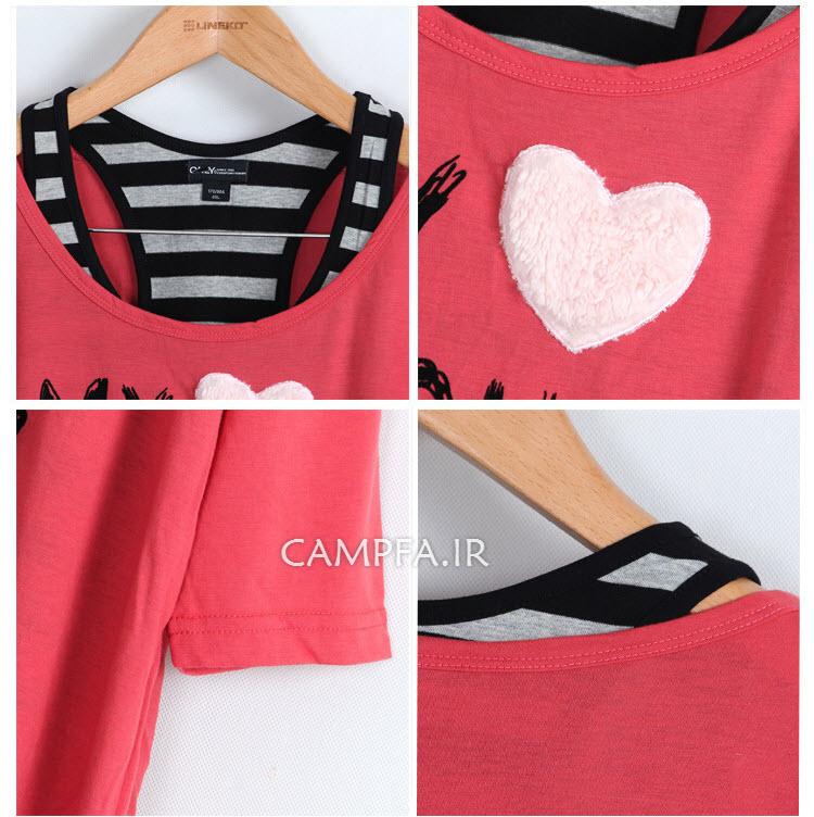 مدل های جدید تیشرت دخترونه کره ایی سال 2013 - 92 - www.campfa.ir