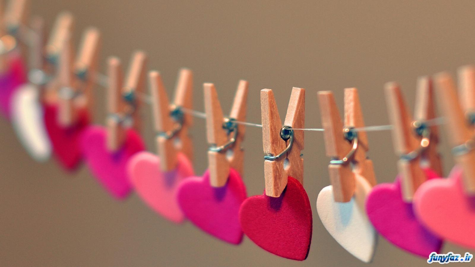 والپیپر عاشقانه قلب