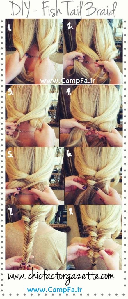آموزش های تصویری آرایش مو 2013