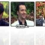 عکس های محسن تنابنده و احمد مهران فر(بازیگران ایرانی) در برنامه خوشا شیراز فروردین ۹۲