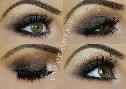 مدل جدید آرایش سایه چشم - www.campfa.ir