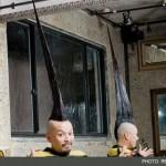 رکورد بلندترین مدل موی سیخ جهان!! + عکس