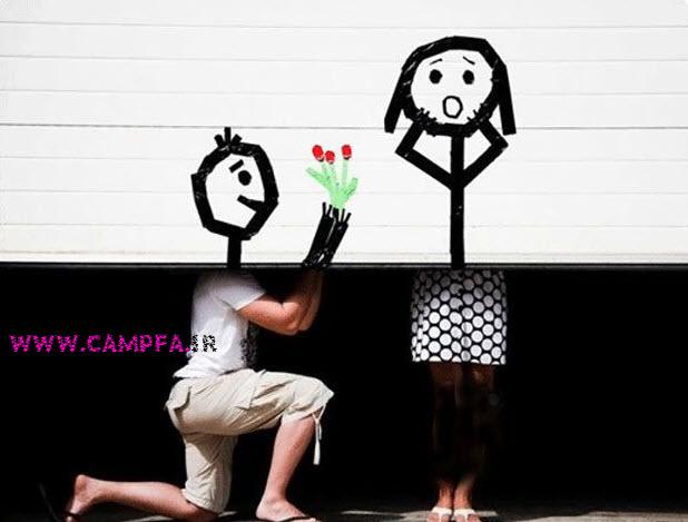 شیوه های فراری دادن خواستگار (طنز) WWW.campfa.ir